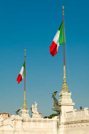 altar of fatherland: Altar of the Fatherland in rome Stock Photo