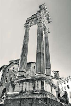 apollo: temple of apollo in rome