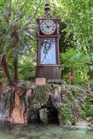 villa borghese: hydro chronometer in villa borghese