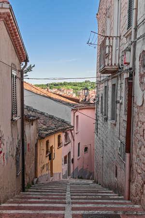 glimpse: street of Campobasso