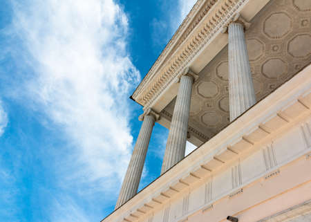 noble: detail of the noble casino in the villa torlonia to rome