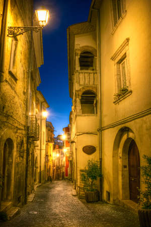 alley of the old town of Campobasso