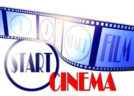 poster voor film en entertainment