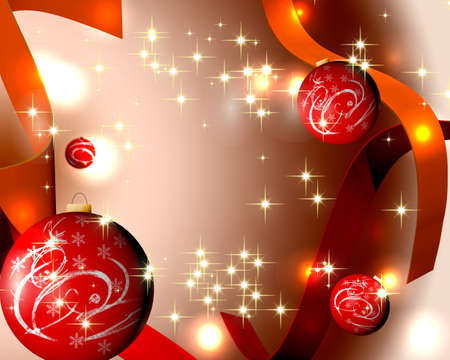 Magic Christmas Lights - Voer uw tekst Stockfoto