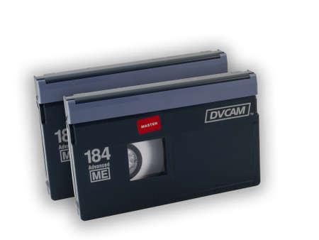 DVCAM Videotape - Professionele videobanden voor uitzending productie Redactioneel