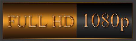 Logo full HD 1080p photo