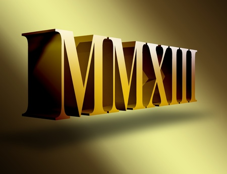 numerals: 2013 Roman numerals