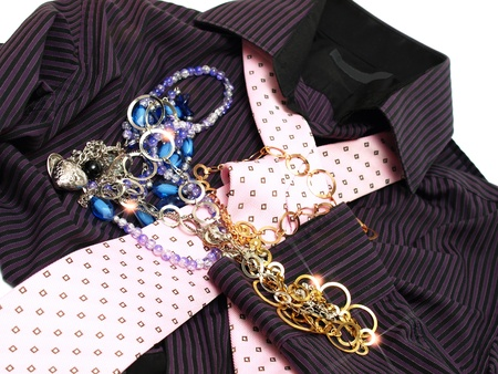 clothing accessories for men and women Stock Photo - 13602712