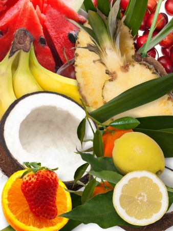 fresh fruit composition photo