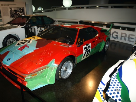 BMW M1 - designed by Andy Warhol 1979