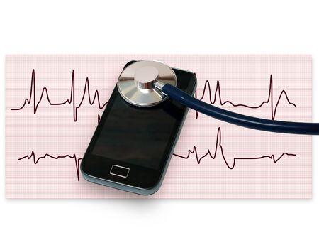concept of repair new smartphone Imagens