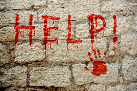 paint varnish text on wall murales help photo