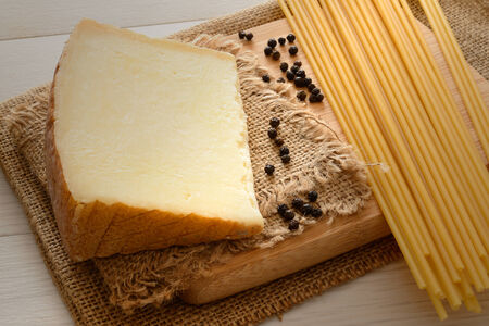 bucatini italian pasta ingredients for bucatini cacio e pepe