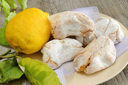 fragrant and sweet Sicilian almond paste with sugar and lemon