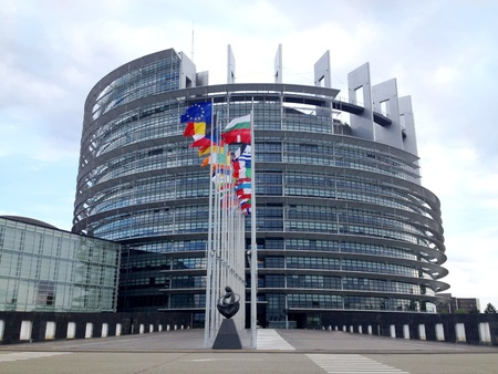 Strasbourg, france the european parliament building