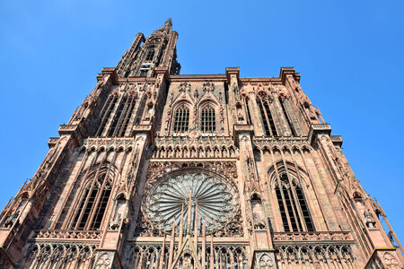The Cathedral of Notre Dame In Strasbourg - France photo