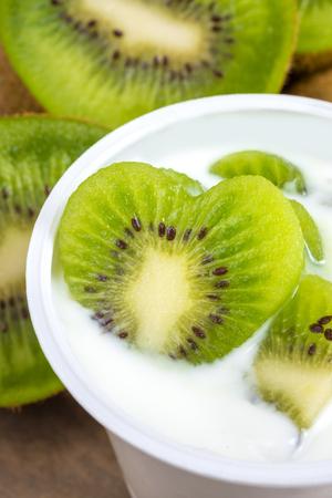 lowfat: low-fat plain yogurt creamy kiwiflavor