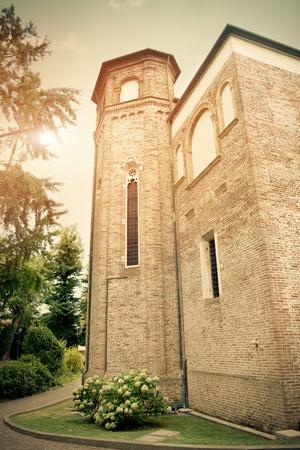 cappella: Torre de Capilla de los Scrovegni en Padua, Italia