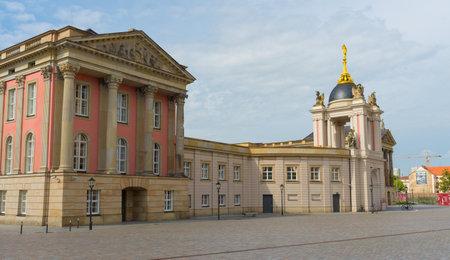 Potsdam, Berlin - Germany - August 7, 2019:view of Steubenplatz Editorial