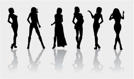 fashion silhouette: Fashion silhouette