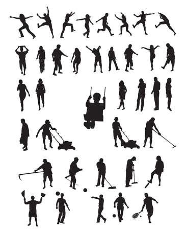 happy people: Happy people Illustration