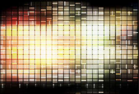 lightbeam: Abstract decorative background