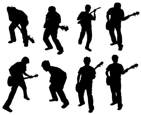 gutar: Guitar man Illustration