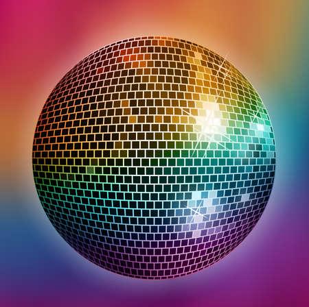 Disco achtergrond