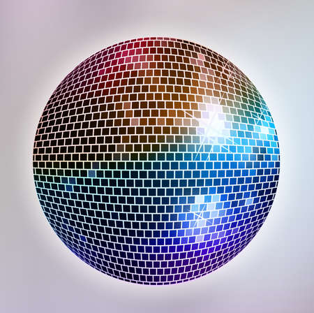 Disco ball 向量圖像