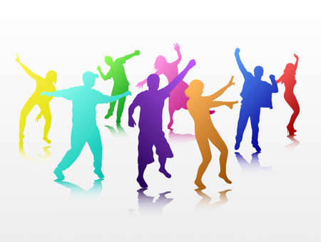 Danza persone Archivio Fotografico - 35103729