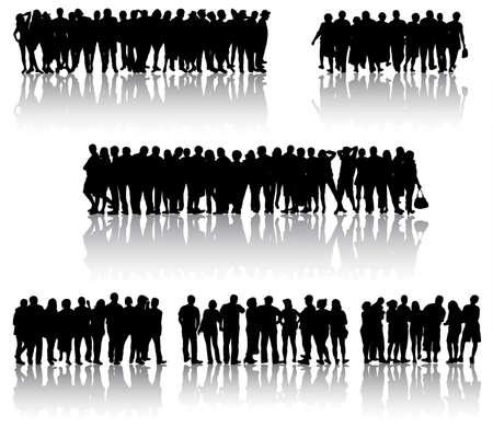 Peoplep silhouetten