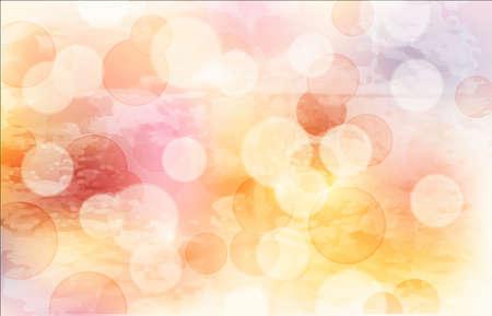 abstracte achtergrond met glanzende cirkels Stock Illustratie