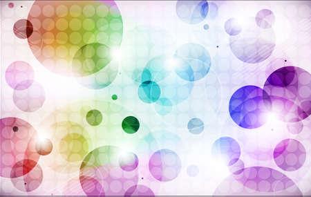 Sfondo di cerchi colorati Archivio Fotografico - 59037271