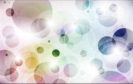 Circles sfondo colorato Archivio Fotografico - 59037442