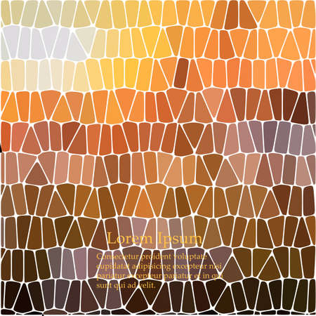 Abstract repeating geometric background with chaotic texture. Irregular pattern of blocks.