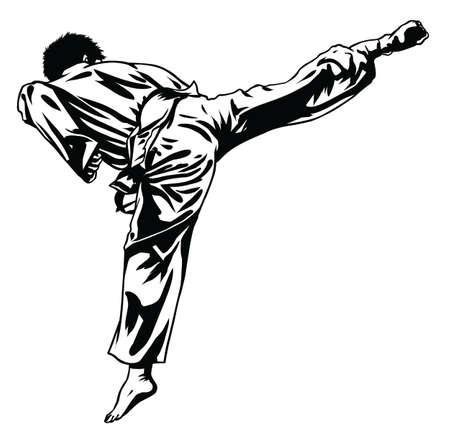Judo fight Фото со стока - 35518653