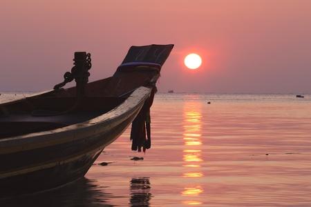 koh tao: Beautiful sunset at koh tao Thailand