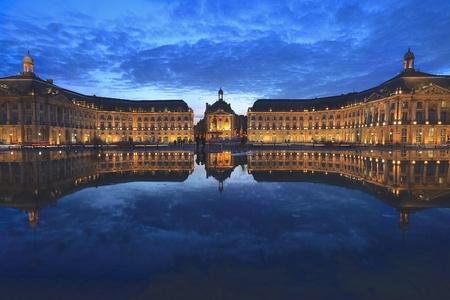 Place de la bourse,Bordeaux, France