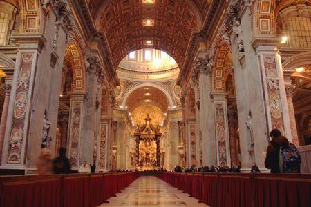 rome italie: La basilique Saint-Pierre, Rome, Italie
