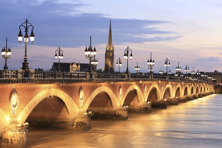 pierre: Pont de Pierre bridge, Bordeaux , France