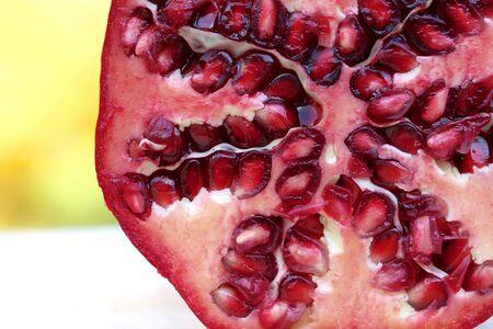 closeup: Closeup of Pomegranate