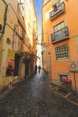 Seville, Spain - January 3, 2019: Street view in Seville city. Seville is the capital of Andalusia and the 4th largest city in Spain Editorial