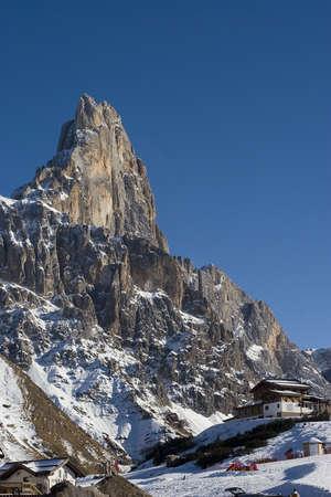Monte Cimone Stock Photo
