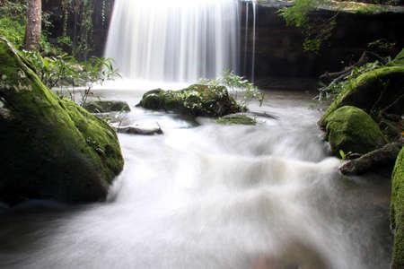 Autumn Waterfall In Scotland Highlands Stock Photo - 10533038