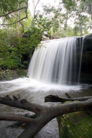 Autumn Waterfall In Scotland Highlands  photo