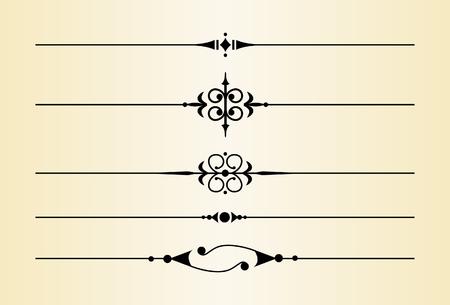 divides: Separadores y Decorativas Acentos # 2