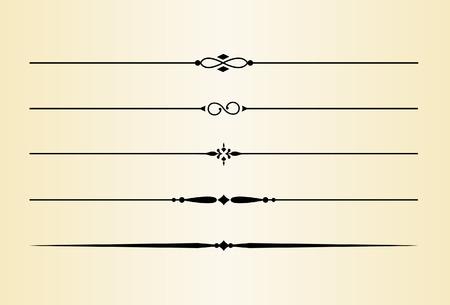 divides: Separadores y Decorativas Acentos # 3