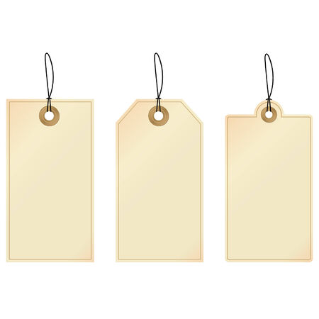 Tags - set of decorative tags Stock Vector - 4155744