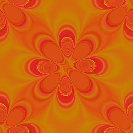 seamlessly: Groovy orange seamlessly tiled background.