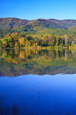 Early fall at Cove Lake State Park, Caryville, Tennessee photo